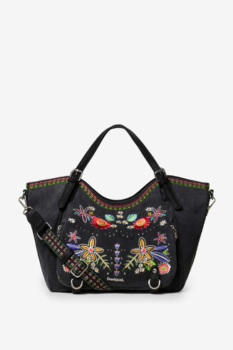 Embroidered Black Bag Candem Rotterdam