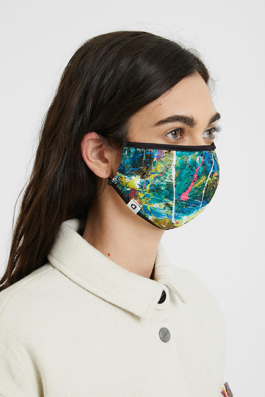 Mascherina effetto acquarello reversibile | Desigual