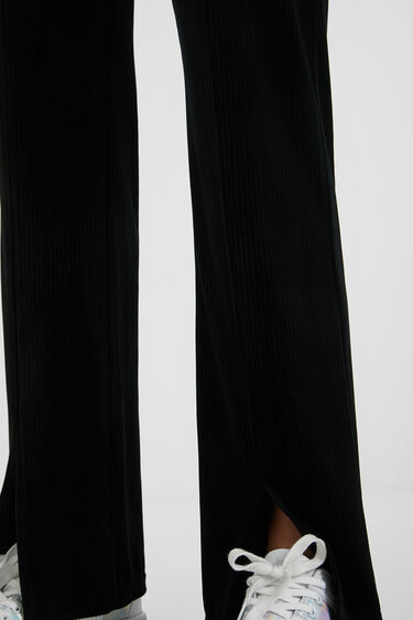 Velvety corduroy trousers | Desigual