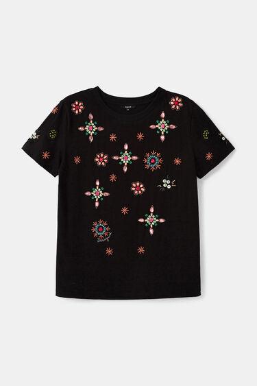100%コットン ジュエルTシャツ | Desigual