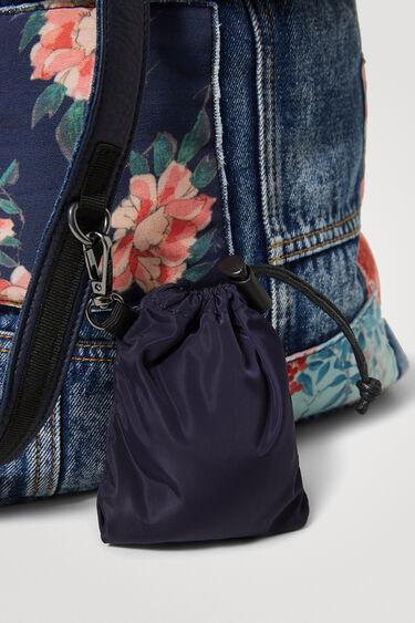 Sac à dos en jean patchs | Desigual
