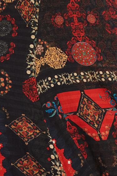 Long Indonesian midi-dress | Desigual