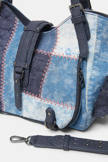 Tasche Jeans-Patches | Desigual