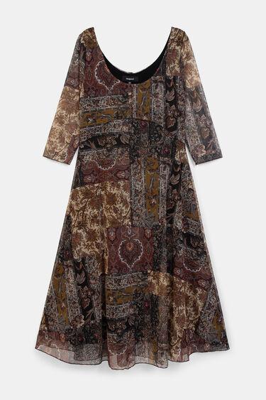 Boho flared dress | Desigual