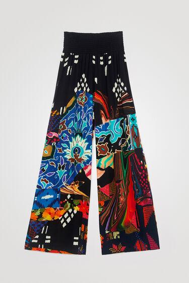 Pantalon large ceinture élastique - DESIGNED BY M. CHRISTIAN LACROIX | Desigual
