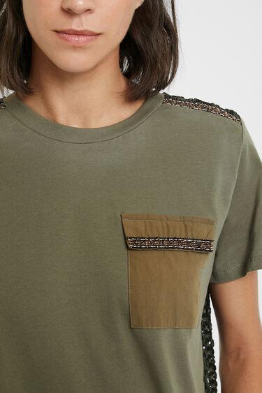 Crochet back T-shirt | Desigual