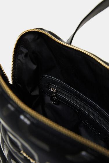 Kwadratowy plecak z logo | Desigual