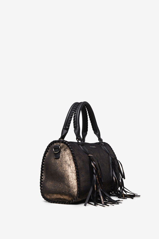 Cylinder bag with fringe | Desigual
