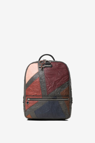 Medium patchwork backpack