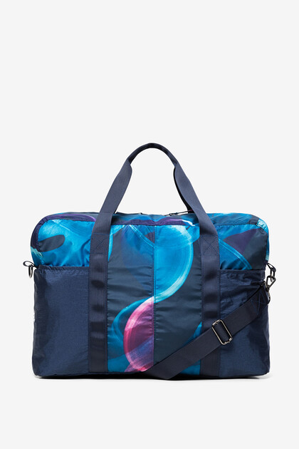 Sports bag with toiletry bag