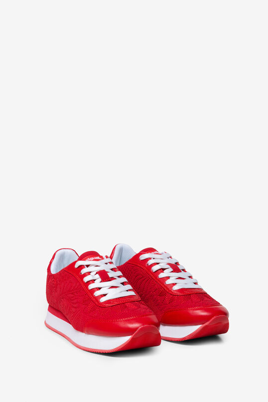 Jogging-sneakers Galaxy Lottie Red | Desigual