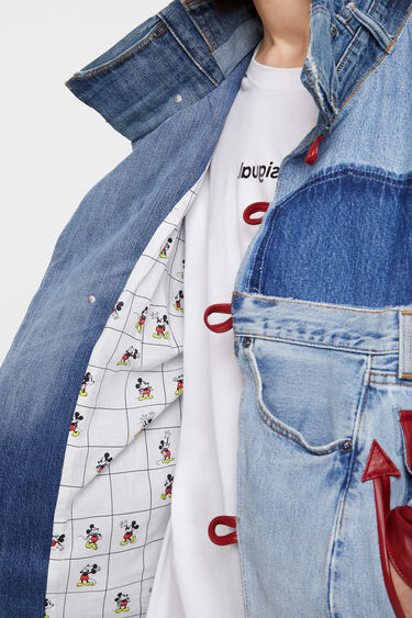 Iconic Jacket Mickey Mouse | Desigual