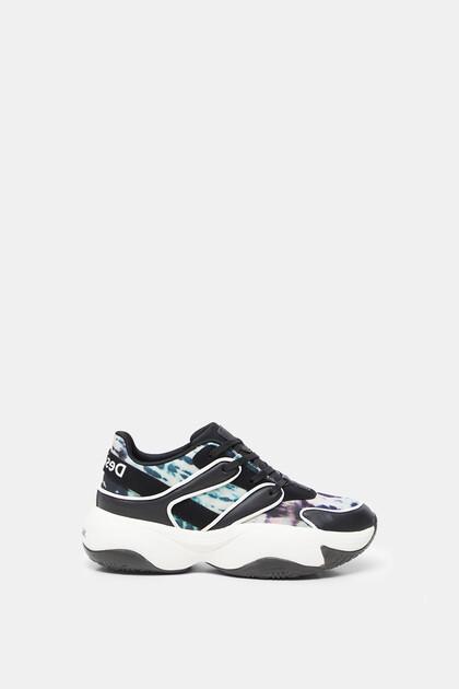 Sneakers Chunky tie-dye