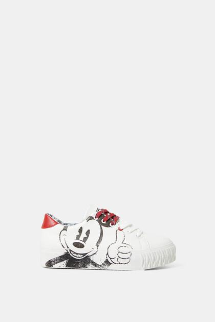 Schuhe Illustration Micky Maus