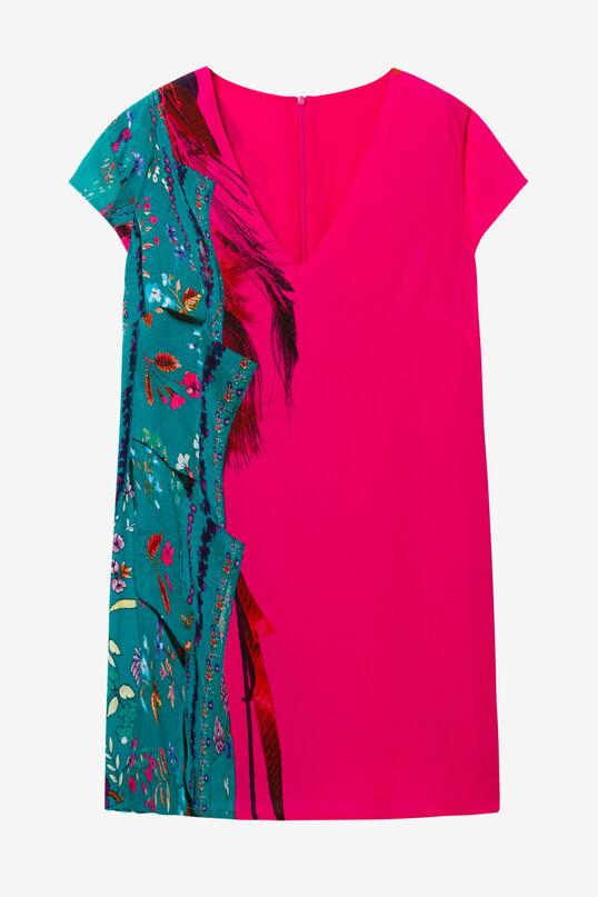 Vestido fucsia Wailing | Desigual