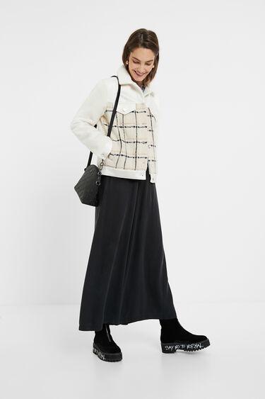 Straight wool trucker jacket | Desigual