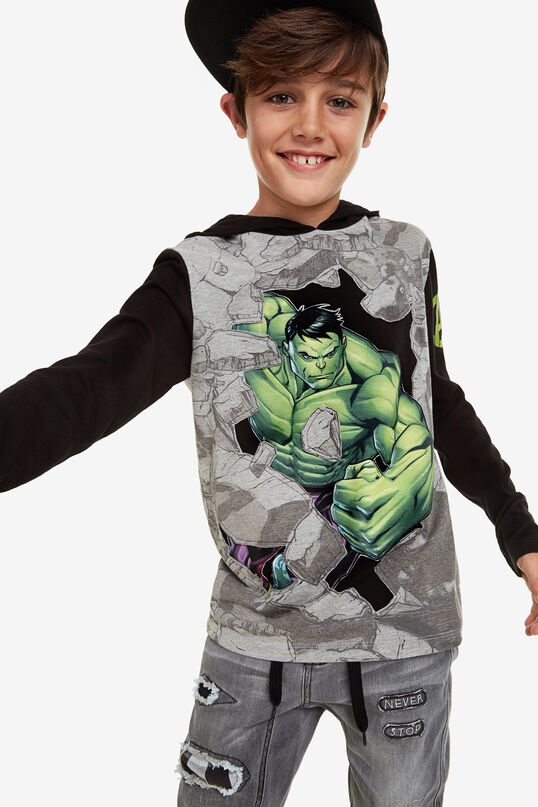 T-shirt with Marvel hood | Desigual