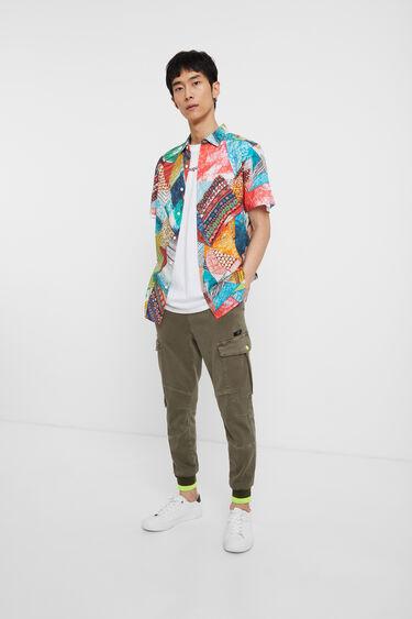 Arty multicolour shirt | Desigual