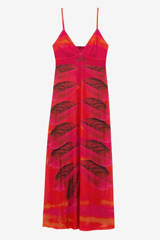 Red Dress with Long Skirt Marcela | Desigual