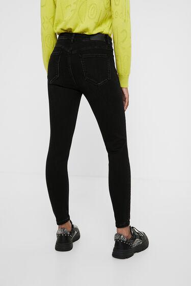 Skinny cropped jeans | Desigual