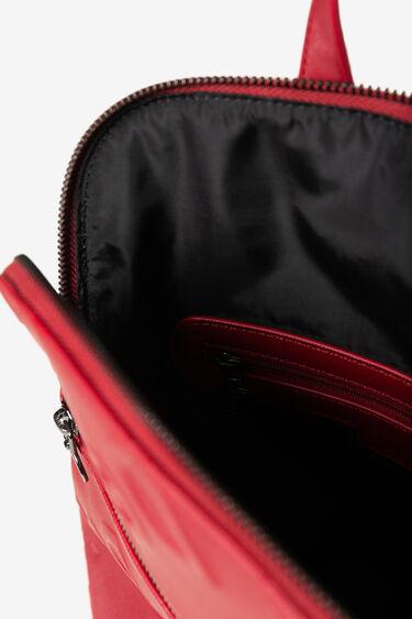 Embossed logomania backpack   Desigual