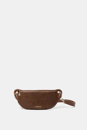 Synthetic leather bum bag
