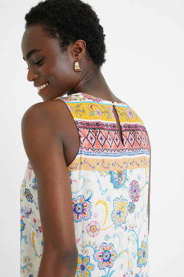 Short viscose dress | Desigual