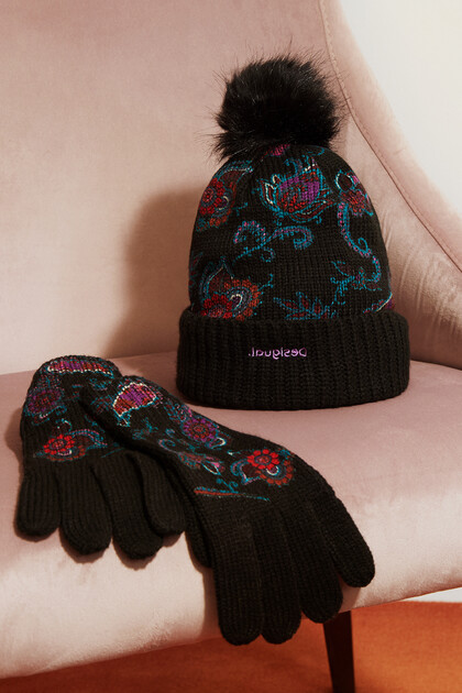 Paisley cap gloves pack