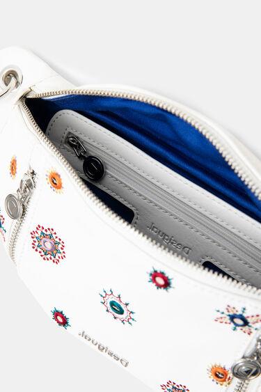Bicolour synthetic leather bum bag | Desigual