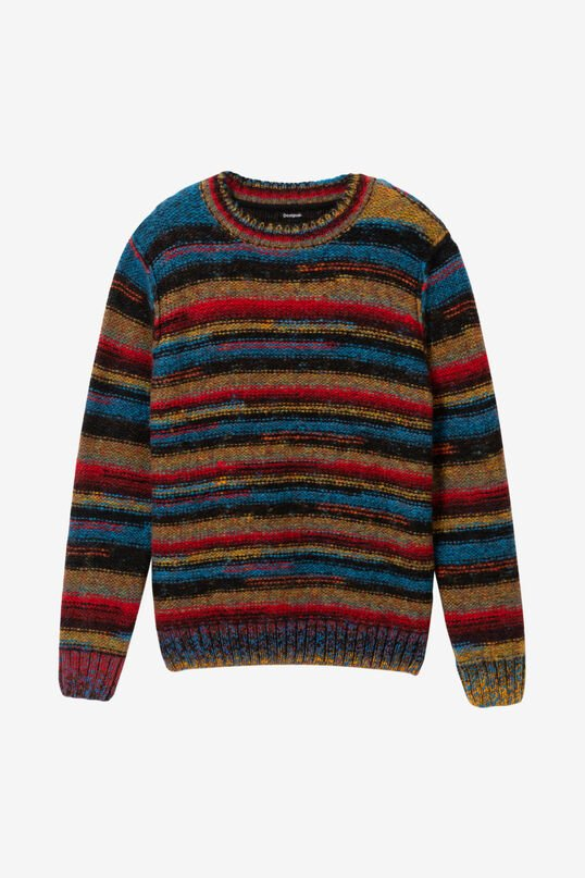 Knitted stripes sweater | Desigual