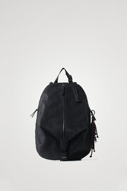 Mochila três alças forma de saco
