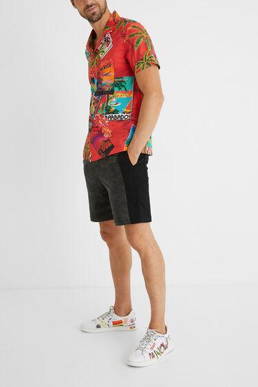 100%コットン ハワイアンシャツ | Desigual