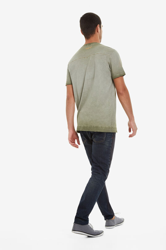 Faded Green Shirt Enrique | Desigual