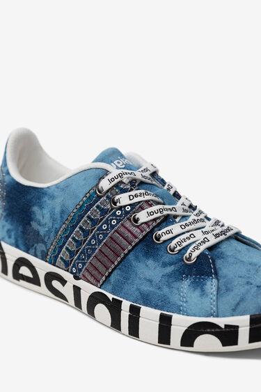 Denim sneakers Exotic | Desigual