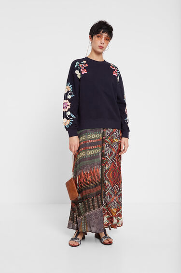 Floral print sweatshirt | Desigual