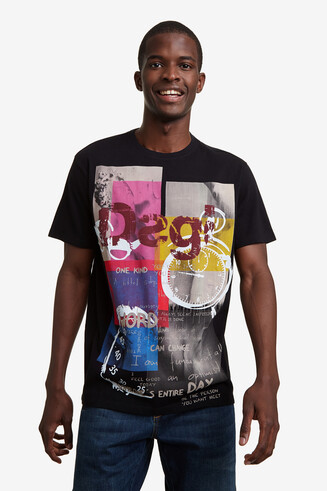100% cotton print T-shirt