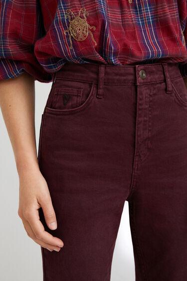 Pantalon straight chevilles   Desigual