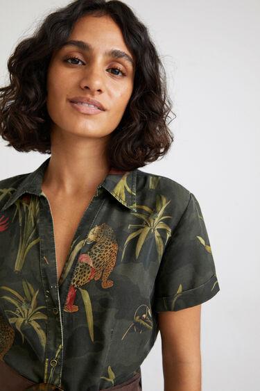 Robe chemise maxi longue | Desigual