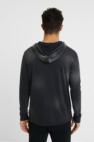 Hooded neck T-shirt | Desigual