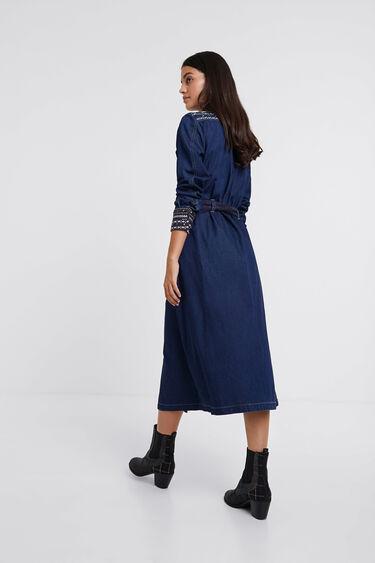 Denim shirt dress | Desigual