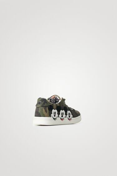 Sneakers illustration doublure bande-dessinée - Mickey Mouse   Desigual