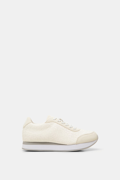 Leather effect sneaker mandalas