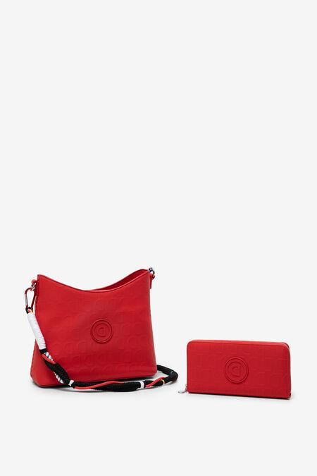 Bag and wallet set