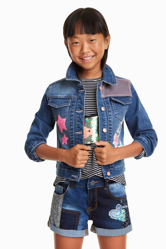Pop Denim Jacket Tavernoles