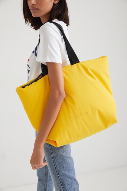 Shopping bag cerniera