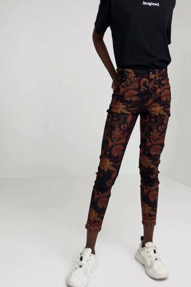 Pantalon skinny ethnique   Desigual
