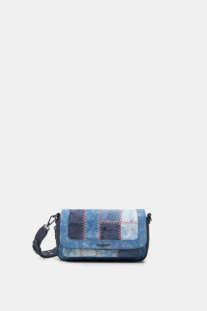 Denim crossbody bag