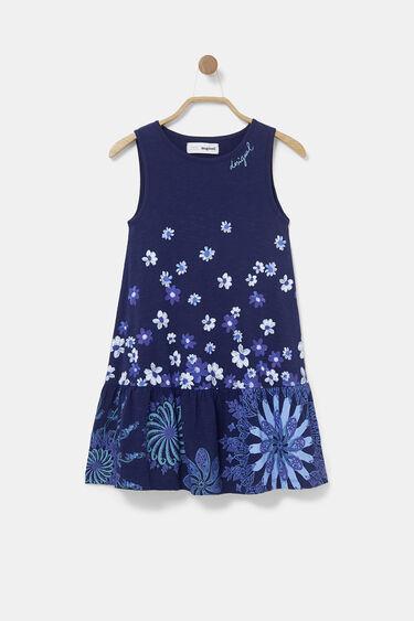 Katoenen jurk met schouderbandjes | Desigual