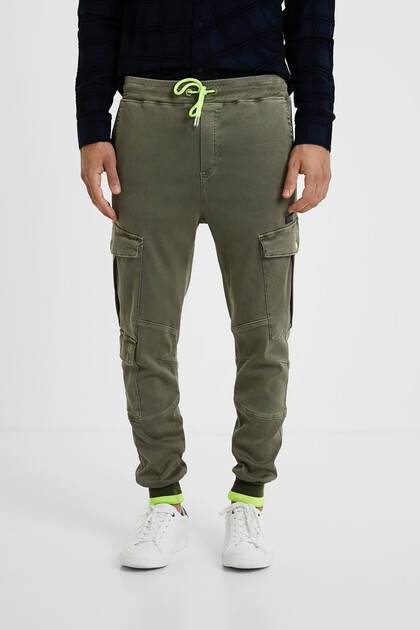 Cargo jogger trousers