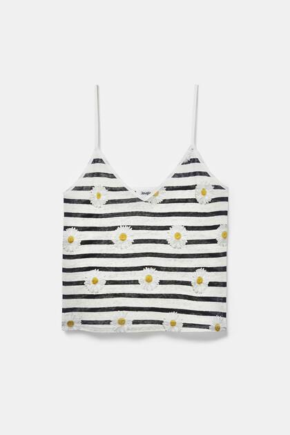 Tank top T-shirt daisies